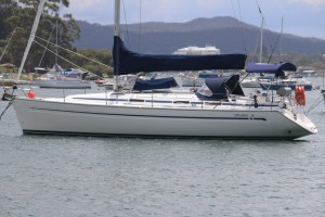 Bavaria 38 on the Central Coast