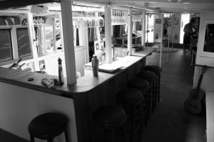 Bundeena Bar with dance floor behind