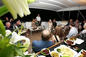 Pure Adrenalin aft deck evening group