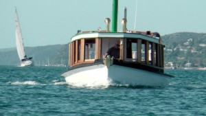 Reliance cruising Pittwater