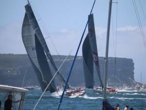 Sydney to Hobart Start 2014