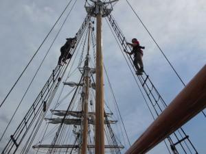 Tallships mastclimb