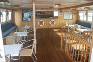 Bass & Flinders upper deck