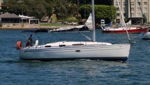 Bavaria 34 yacht
