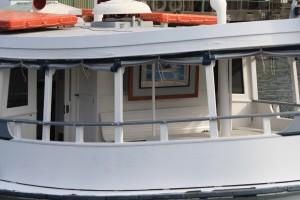 Bundeena back deck has plenty of room