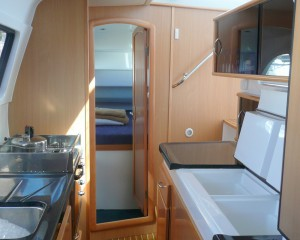 Seawind1160 galley