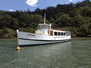 Sydney Princess cruise on the Hawkesbury River